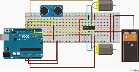 Arduino Motor Dcstepper Dan Servo Shield L293d how to make a obstacle avoiding robot using arduino make