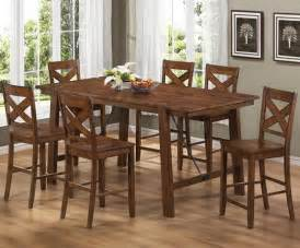 rustic counter height dining sets home interiors