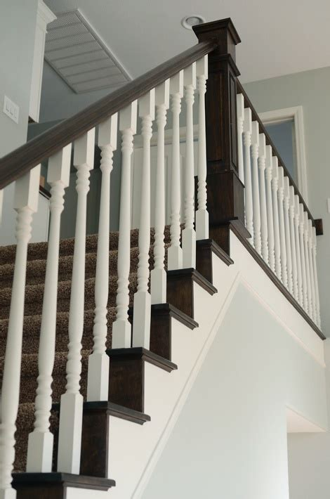 how to paint a banister black 17 best ideas about redo stairs on pinterest tile on
