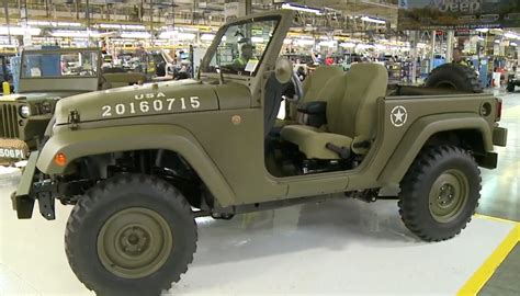 Mb Jeep Jeep Wrangler 75th Salute Homage To The Willys Mb