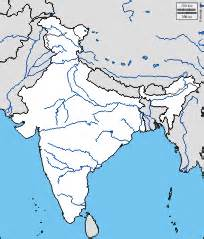 India River Map Outline Plain by India Mappe Gratuite Mappe Mute Gratuite Cartine Mute