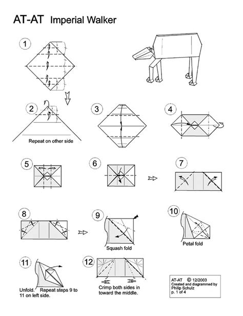 Wars Origami Pdf - 17 best images about wars origami on x