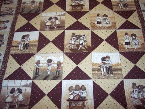 Photo Quilt Fabric by Great Simple Idea For Panels Sewing Quilting
