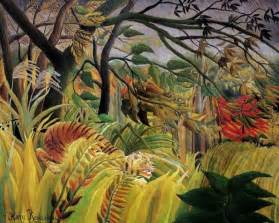 art amp artists henri rousseau s jungle paintings