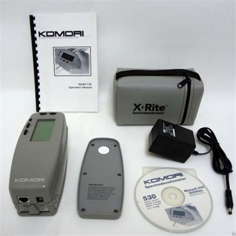 color spectrophotometer x rite 530 komori color spectrophotometer