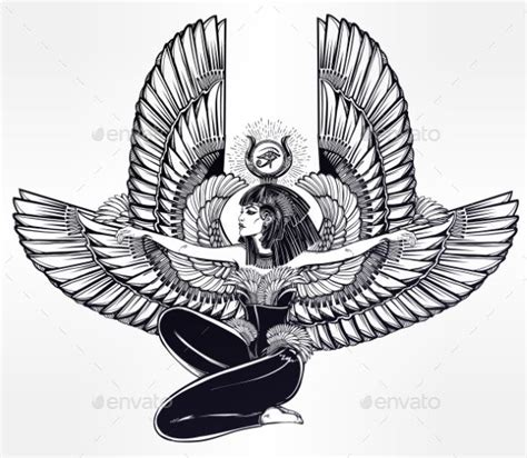 queen isis tattoo best 25 egyptian goddess tattoo ideas on pinterest