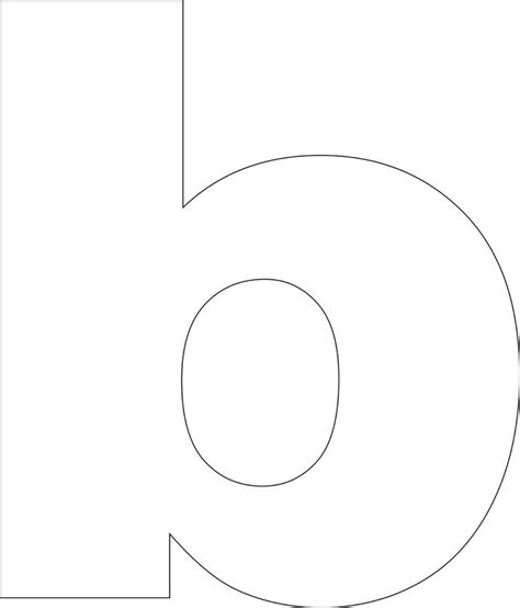 B Template by Best Photos Of Printable Letter B Template Free