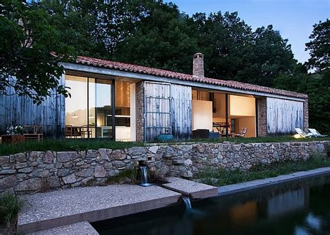 rustic stable renovated into a sustainable modern home