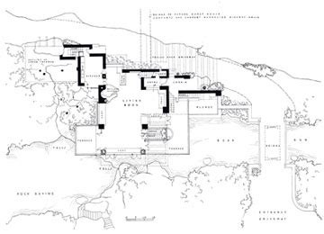 frank lloyd wright falling water floor plan the secrets of frank lloyd wright s fallingwater a place