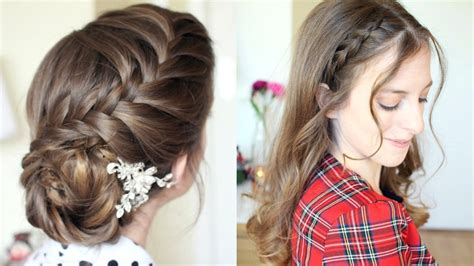 pretty braided hairstyle ideas formal hairstyles