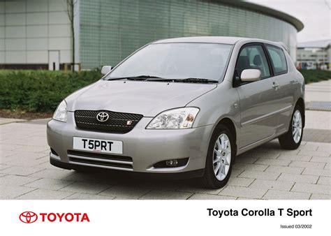 Toyota Corolla T Sport 2002 Corolla T Sport 3 Door Exterior 2002 2004 Toyota Uk
