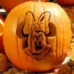 Disney Halloween Pumpkin Carving Patterns - minnie mouse pumpkin carving template disney family