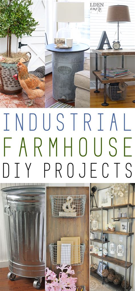 farmhouse fridays industrial farmhouse diy projects the cottage market