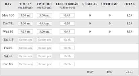 time card calculator with lunch breaks tvsputnik tk