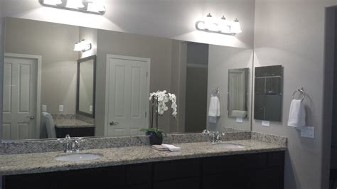 before and after customer bathroom in las vegas frame