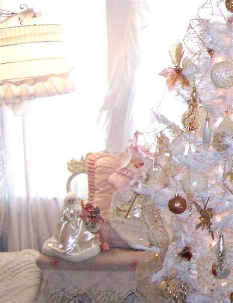 white shabby chic olivia s romantic home shabby chic white christmas tree