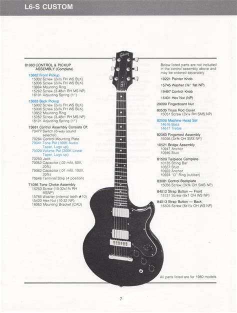 gibson   schematics parts lists vintage guitar