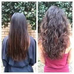 wave perm hairstyle before and after on hair before and after pictures body wave and body wave perm on