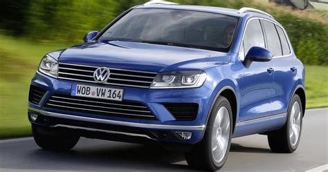 Vw Auto Leasing by Volkswagen Touareg Leasen
