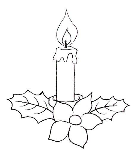 candela di natale da colorare midisegni disegni da colorare