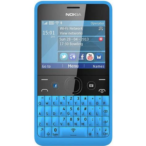 Hp Nokia Asha Tipe 210 bol nokia asha 210 blauw