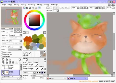 paint tool sai no trial paint tool sai