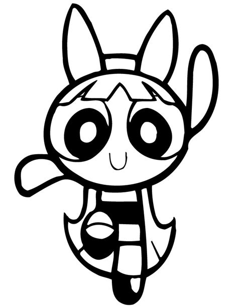 free printable powerpuff girls coloring pages for kids