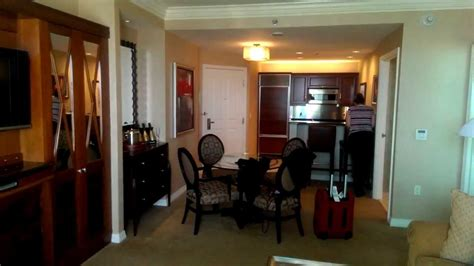 the signature one bedroom balcony suite mgm signature one bedroom suite w balcony youtube
