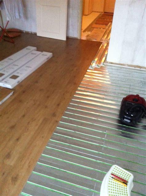 laminaat quickstep vloerverwarming toch vloerverwarming geen energierekening meer energie