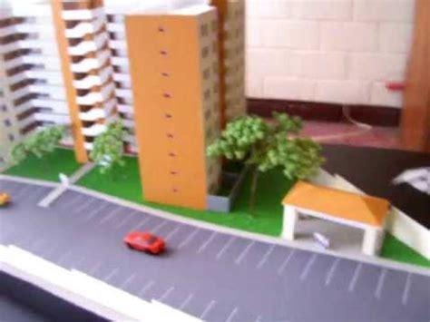 como hacer efecto espejo en maqueta maquetas guatemala edificio de apartamentos scale models
