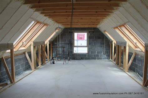 Dormer Insulation Fusion Spray Foam Insulation No 1 For Spray Foam Fusion