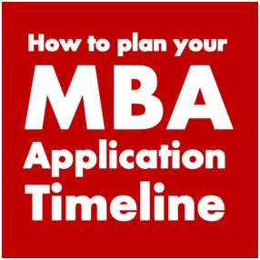 Mba Application Timeline by How To Plan Your Mba Application Timeline Mba