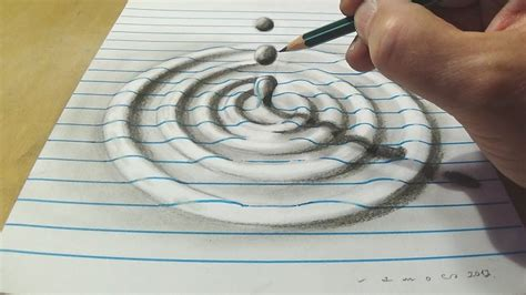 how to draw water drop with charcoal pencil trick art on - How To Draw A Water Line On A Model Boat