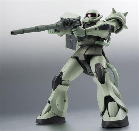 baju anime gundam 06 best buy bandai robot spirits side ms ms 06 zaku ii ver