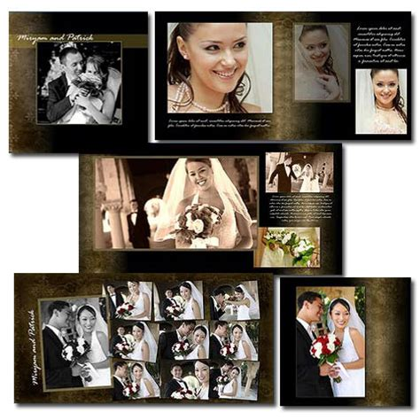 wedding album templates for photoshop arc4studio