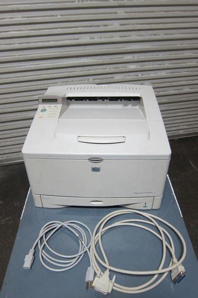Mesin Printer Hp Laserjet 5100 lot 68 hp laserjet 5100 printer wirebids