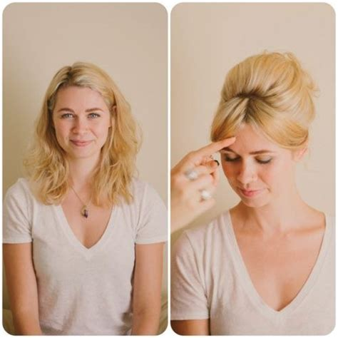 beehive hair styles for shoulder length hair 30 diy vintage hairstyle tutorials for short medium long