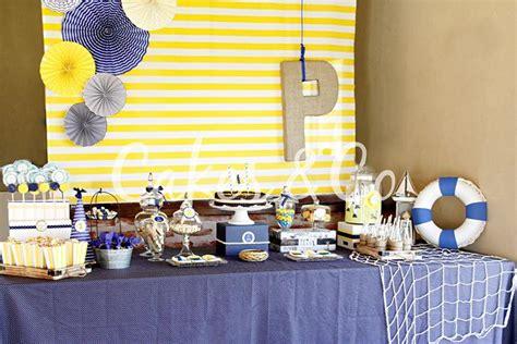 St Sailor Blue White 090012 kara s ideas yellow and blue nautical 1st birthday