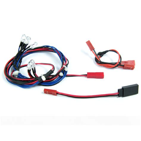 Rc Led Light Kit by Light Kit Headlights Rear Lights For 1 10 Rc Car 6 Leds