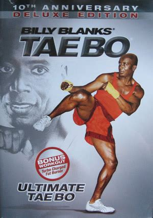 billy banks tae bo tae bo ultimate by billy blanks health fitness excercise