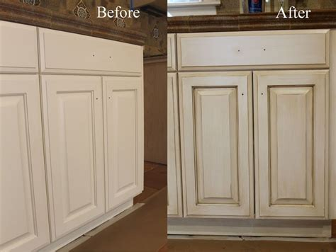 painting stained cabinets antique white how to paint antique white kitchen cabinets step by step