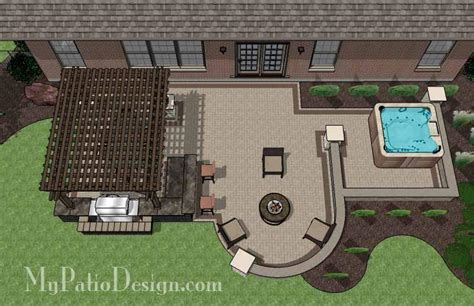 tub patio designs 1 patio designs for houses mypatiodesign