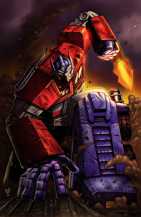 transformers painting g1 optimus prime by allengeneta on deviantart