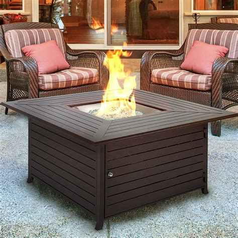 gas firepit tables 2017 s best pit for outdoor indoor heat reviews