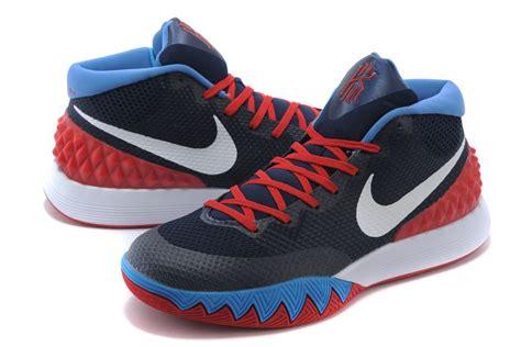 Nike Kyrie Irving 2 White Blue nike kyrie irving 1 navy blue white cheap sale