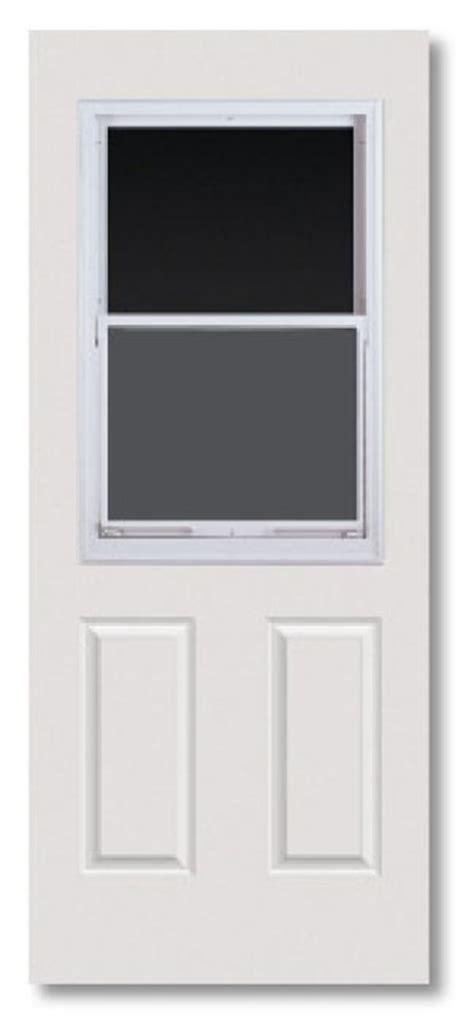 Vented Exterior Doors Duracraft Millwork 799cll 32 In Half Lite Vented Steel Door At Sutherlands