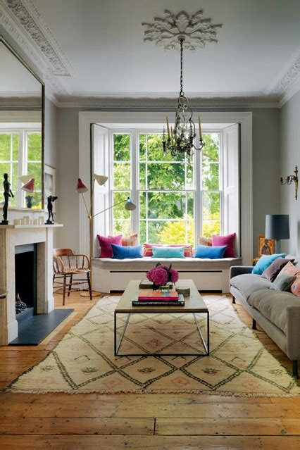Edwardian Living Room Designs Home by Window Seat Living Room Design Ideas Pictures