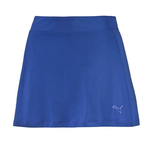 s solid knit golf skirt golf