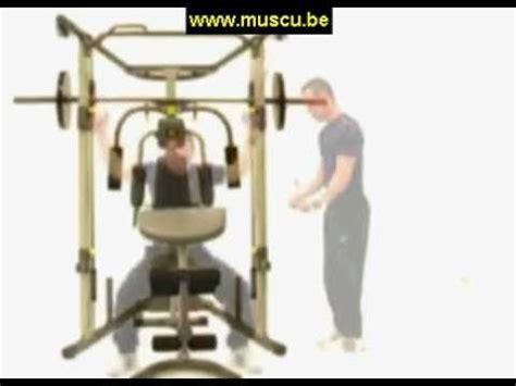 banc musculation weider weider smith machine discount banc de musculation