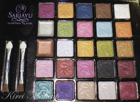 Inez Pallete product of the week sariayu eyeshadow palette kirei makeup